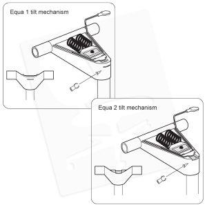 Crandall Office Furniture Aftermarket Herman Miller Equa 1 Gas Cylinder Conversion Kit 0004