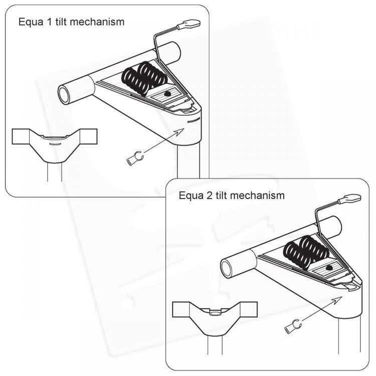 Crandall Office Furniture Aftermarket Herman Miller Equa 2 Gas Cylinder Conversion Kit 0004
