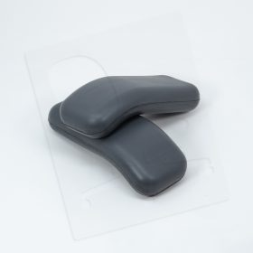 Crandall Office Furniture aftermarket replacement Herman Miller Equa Arm Pads - Grey 0003