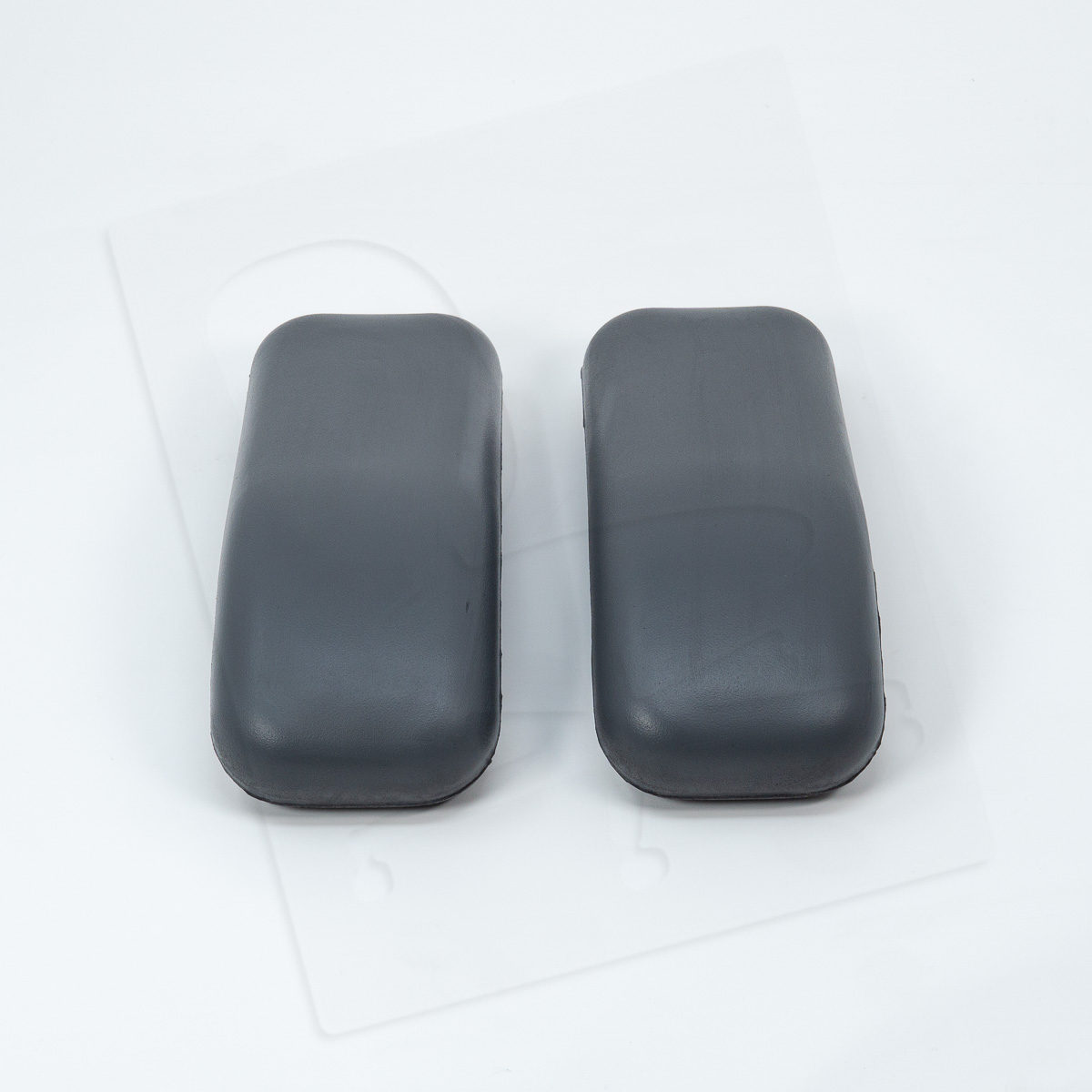 Crandall Office Furniture aftermarket replacement Herman Miller Equa Arm Pads - Grey 0002