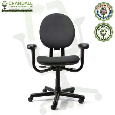Crandall Office Furniture Remanufactured Steelcase Criterion Chair with 12 Year Warranty - 01