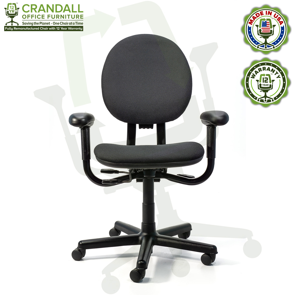 Remanufactured Steelcase 47 Criterion Office Chair