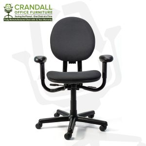 Crandall Office Furniture Remanufactured Steelcase 453 Criterion Office Chair with 12 Year Warranty 0001
