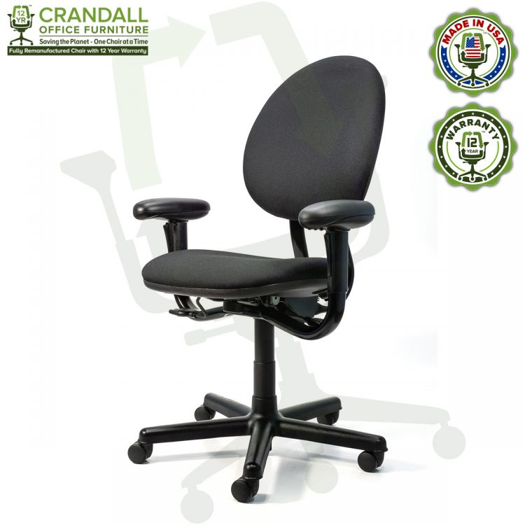 Crandall Office Furniture Remanufactured Steelcase Criterion Chair with 12 Year Warranty - 02