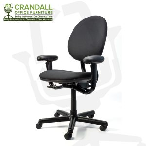 Crandall Office Furniture Remanufactured Steelcase 453 Criterion Office Chair with 12 Year Warranty 0002