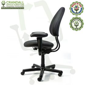 Crandall Office Furniture Remanufactured Steelcase Criterion Chair with 12 Year Warranty - 03