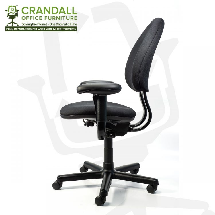 Crandall Office Furniture Remanufactured Steelcase 453 Criterion Office Chair with 12 Year Warranty 0003