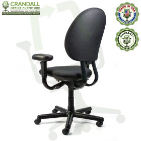 Crandall Office Furniture Remanufactured Steelcase Criterion Chair with 12 Year Warranty - 04