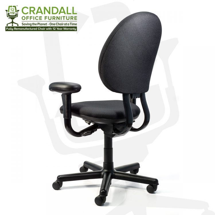 Crandall Office Furniture Remanufactured Steelcase 453 Criterion Office Chair with 12 Year Warranty 0004