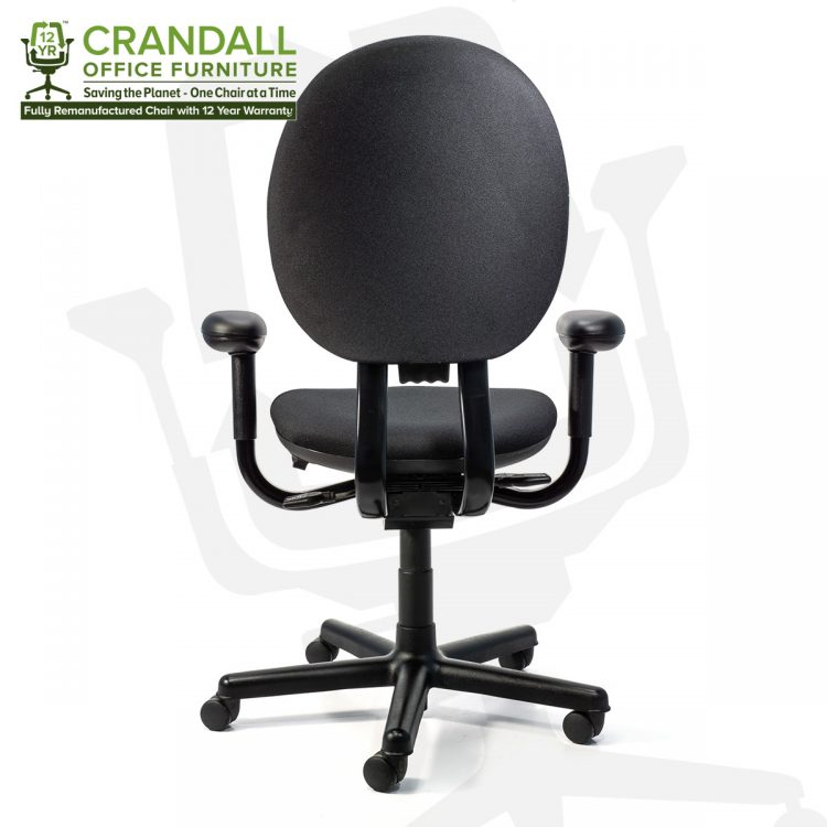 Crandall Office Furniture Remanufactured Steelcase 453 Criterion Office Chair with 12 Year Warranty 0005