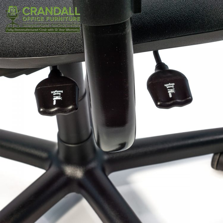Crandall Office Furniture Remanufactured Steelcase 453 Criterion Office Chair with 12 Year Warranty 0006