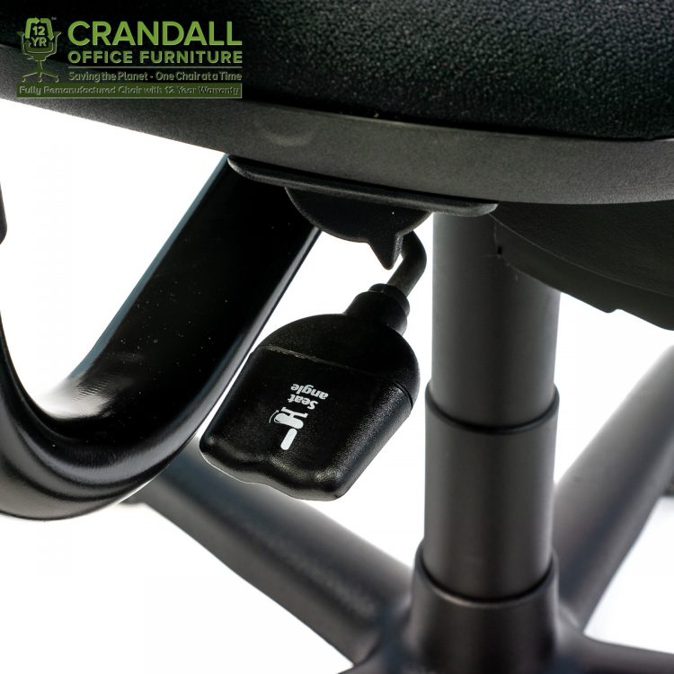 Crandall Office Furniture Remanufactured Steelcase 453 Criterion Office Chair with 12 Year Warranty 0007