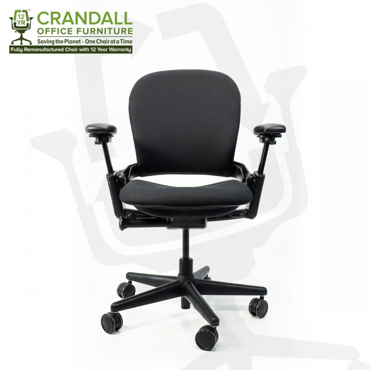 Crandall Office Furniture Remanufactured Steelcase 462 Leap V1 Office Chair with 12 Year Warranty 0001