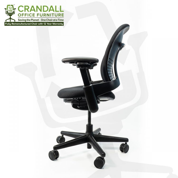 Crandall Office Furniture Remanufactured Steelcase 462 Leap V1 Office Chair with 12 Year Warranty 0003