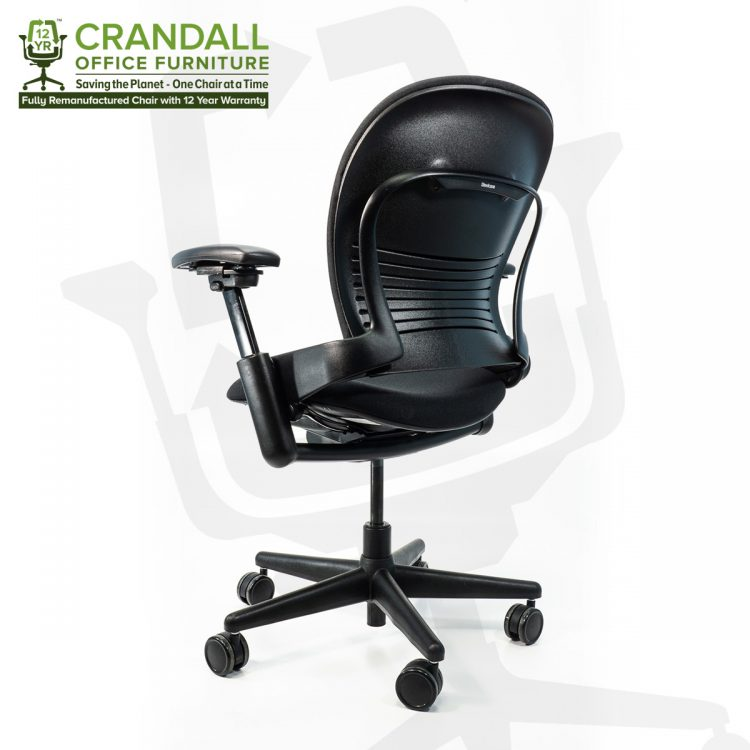 Crandall Office Furniture Remanufactured Steelcase 462 Leap V1 Office Chair with 12 Year Warranty 0004
