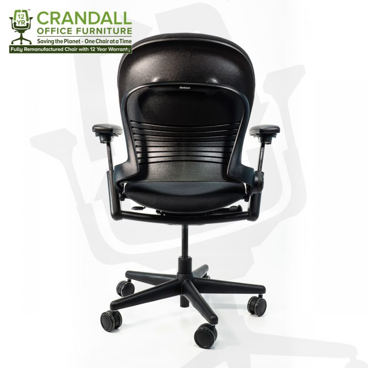 Crandall Office Furniture Remanufactured Steelcase 462 Leap V1 Office Chair with 12 Year Warranty 0005