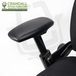 Crandall Office Furniture Remanufactured Steelcase 462 Leap V1 Office Chair with 12 Year Warranty 0006