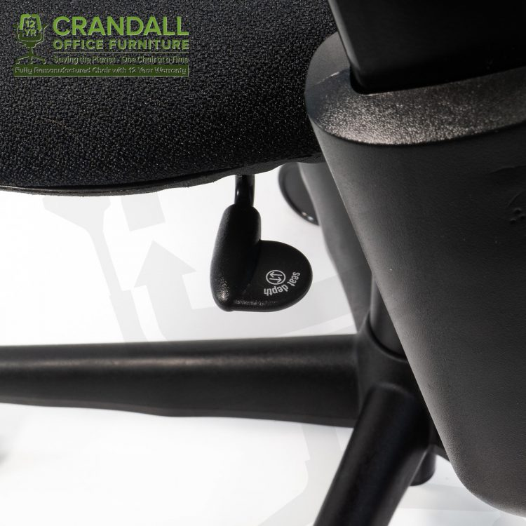 Crandall Office Furniture Remanufactured Steelcase 462 Leap V1 Office Chair with 12 Year Warranty 0007