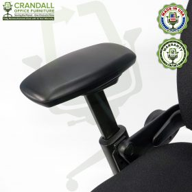 Crandall Office Furniture Remanufactured Steelcase V1 Leap Chair with 12 Year Warranty - 06