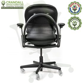 Crandall Office Furniture Remanufactured Steelcase V1 Leap Chair with 12 Year Warranty - Arch Back - 05