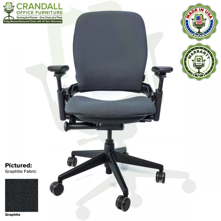 Crandall-Office-Remanufactured-Steelcase-462-V2-Leap-Chair-Color-Graphite