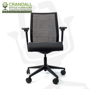 Crandall Office Furniture Remanufactured Steelcase 465 Think Mesh Back Office Chair with 12 Year Warranty 0001