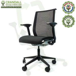 Crandall Office Furniture Remanufactured Steelcase Think Chair with 12 Year Warranty - 02