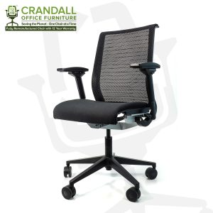 Crandall Office Furniture Remanufactured Steelcase 465 Think Mesh Back Office Chair with 12 Year Warranty 0002