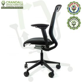 Crandall Office Furniture Remanufactured Steelcase Think Chair with 12 Year Warranty - 03