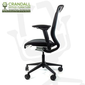 Crandall Office Furniture Remanufactured Steelcase 465 Think Mesh Back Office Chair with 12 Year Warranty 0003