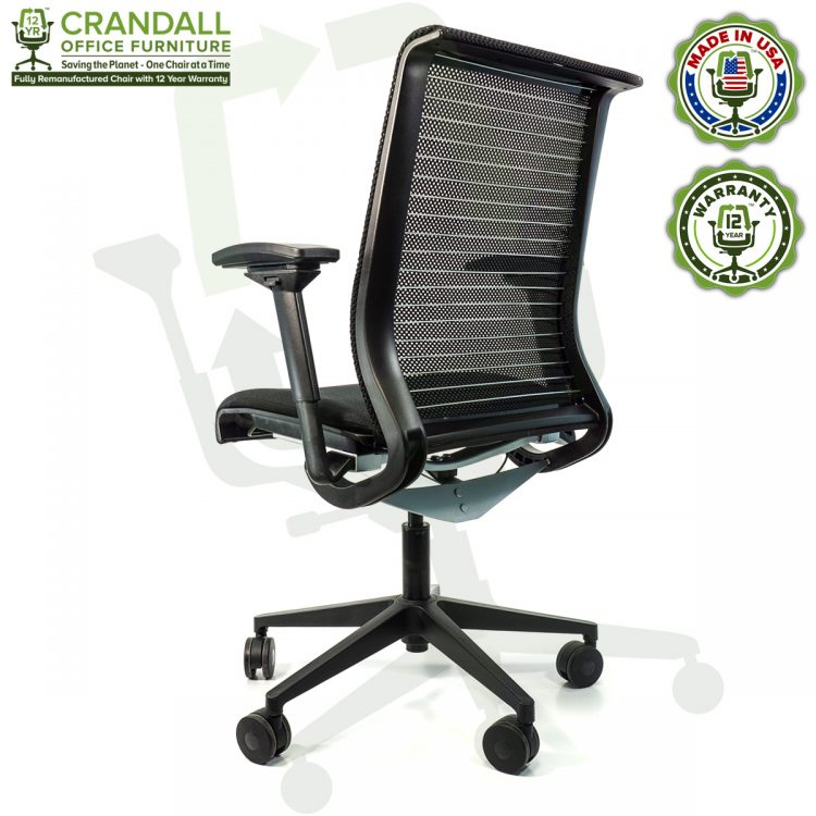 Crandall Office Furniture Remanufactured Steelcase Think Chair with 12 Year Warranty - 04