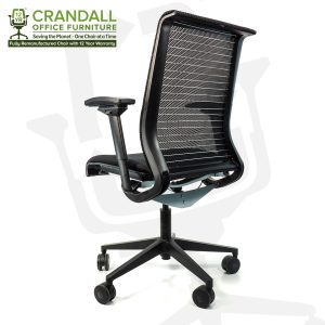 Crandall Office Furniture Remanufactured Steelcase 465 Think Mesh Back Office Chair with 12 Year Warranty 0004