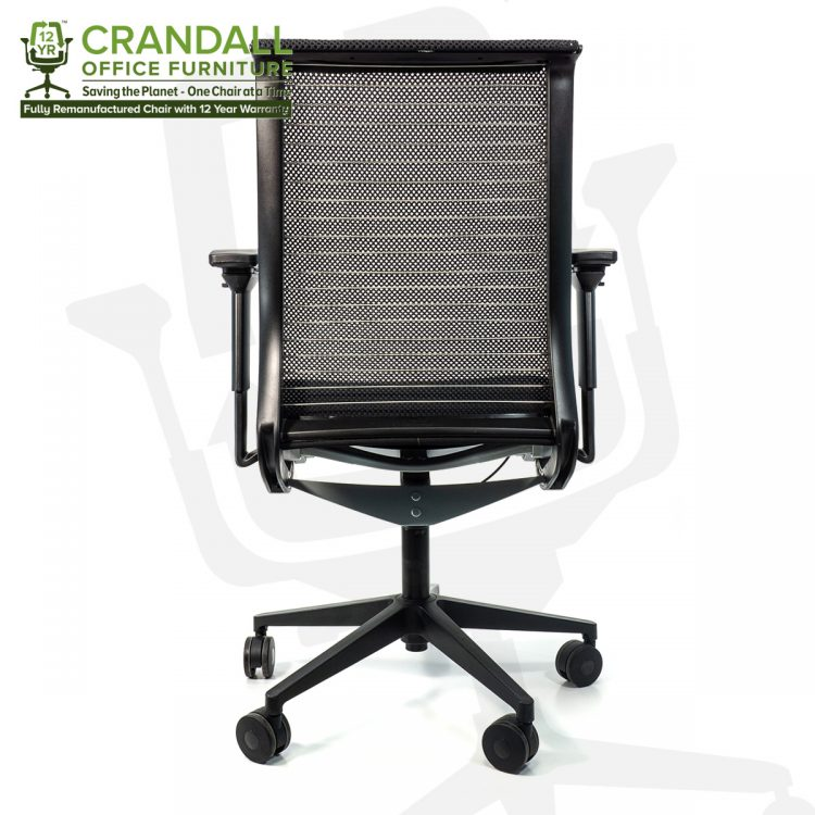 Crandall Office Furniture Remanufactured Steelcase 465 Think Mesh Back Office Chair with 12 Year Warranty 0005