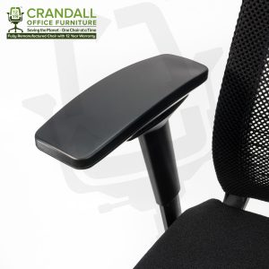 Crandall Office Furniture Remanufactured Steelcase 465 Think Mesh Back Office Chair with 12 Year Warranty 0007