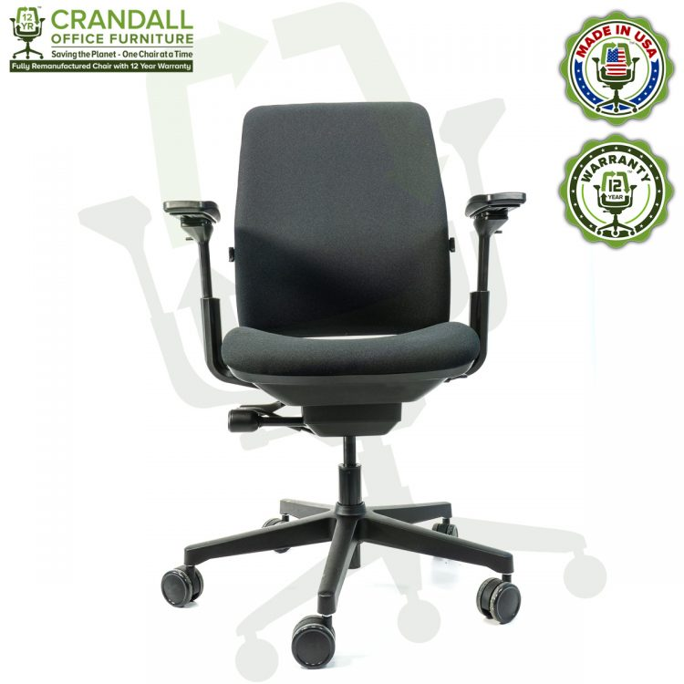 Crandall Office Furniture Remanufactured Steelcase Amia Chair with 12 Year Warranty - 01