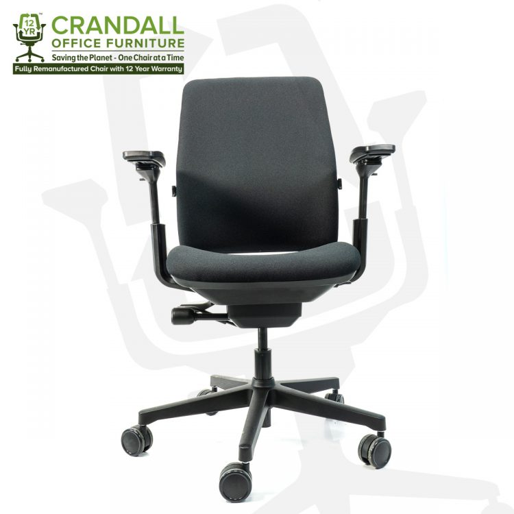 Crandall Office Furniture Remanufactured Steelcase 482 Amia Office Chair with 12 Year Warranty 0001