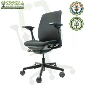 Crandall Office Furniture Remanufactured Steelcase Amia Chair with 12 Year Warranty - 02
