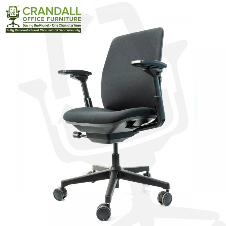 Crandall Office Furniture Remanufactured Steelcase 482 Amia Office Chair with 12 Year Warranty 0002