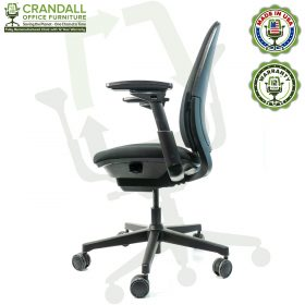 Crandall Office Furniture Remanufactured Steelcase Amia Chair with 12 Year Warranty - 03
