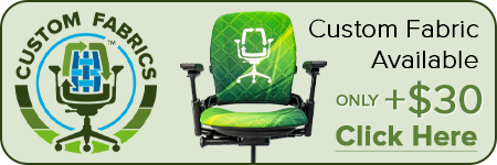 Custom Fabric Available Steelcase V2 Leap Chair