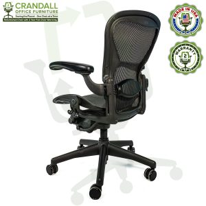 Crandall Office Furniture Refurbished Herman Miller Aeron Chair with 2 Year Warranty - 05