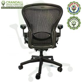 Crandall Office Furniture Refurbished Herman Miller Aeron Chair with 2 Year Warranty - 06