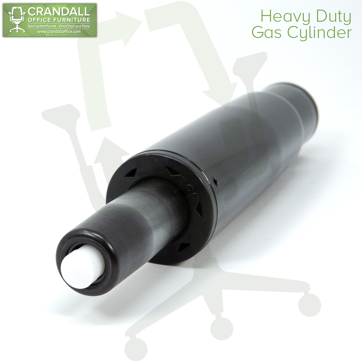 Crandall Office Furniture Aftermarket Heavy Duty Gas Cylinder 0002