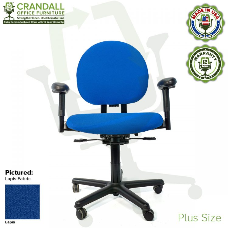 Crandall Office Furniture Remanufactured Steelcase Criterion Plus Chair with 12 Year Warranty - 01