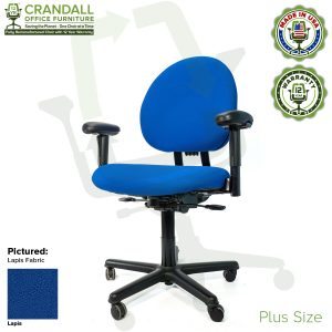 Crandall Office Furniture Remanufactured Steelcase Criterion Plus Chair with 12 Year Warranty - 02