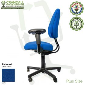 Crandall Office Furniture Remanufactured Steelcase Criterion Plus Chair with 12 Year Warranty - 03