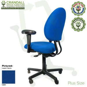 Crandall Office Furniture Remanufactured Steelcase Criterion Plus Chair with 12 Year Warranty - 04