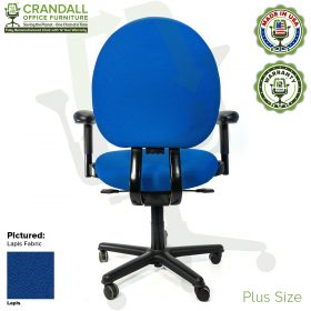 Crandall Office Furniture Remanufactured Steelcase Criterion Plus Chair with 12 Year Warranty - 05