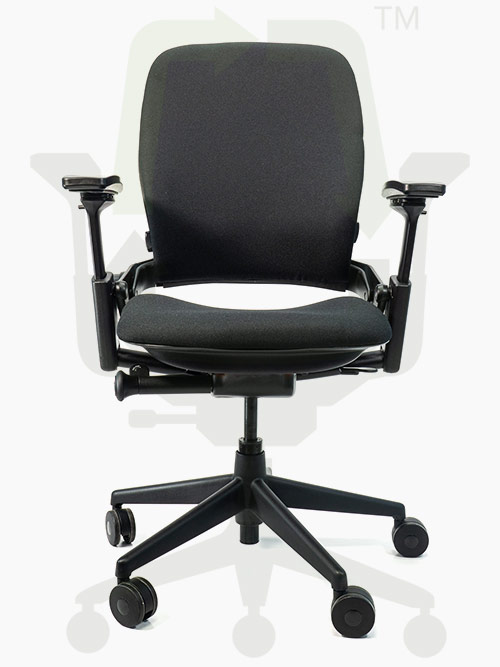 Crandall Office Furniture Remanufactured Steelcase V2 Leap