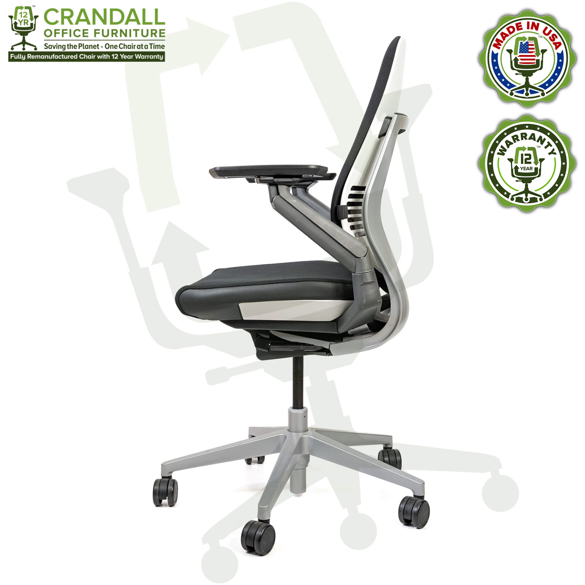 Crandall Remanufactured Steelcase Gesture Chair 03